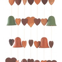Hearts Mission Ceramic Windchime