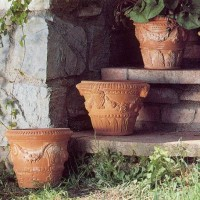 Italian Terracotta Planter Set of 3