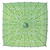 Kelly Green Square Parasol