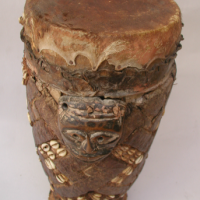 Kuba Drum from Zaire