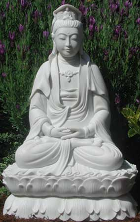 Kwan Yin Seated on Double Lotus