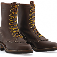 Lace-Up Outdoors Boots