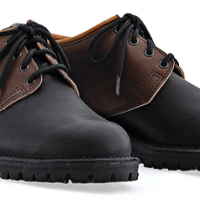 Lace-Up Steel Toe Shoes