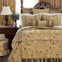 Lavish Floral Bedding
