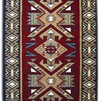 Luxurious Hand-Tufted Wool Rug, more detail
