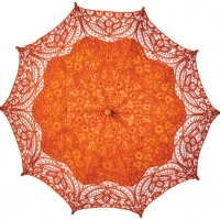 Mango Cotton Lace Parasol