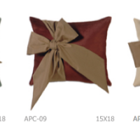 Oversize Bow Decorative Pillows, detail
