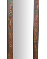 Painted Vine Standing Full Length Mirror