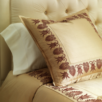 Pintuck Silk Pillows
