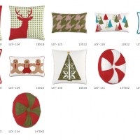 Playful Holiday Pillows