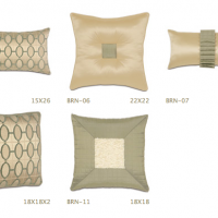 Quilted Silk Pillows