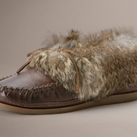 Rabbit Fur Lined Loafer