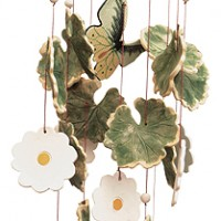 Rite of Spring Ceramic Windchime