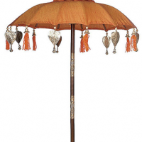 Saffron Orange Parade Parasol