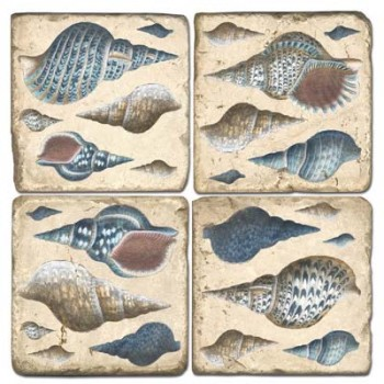 Seashell Terracotta Tiles