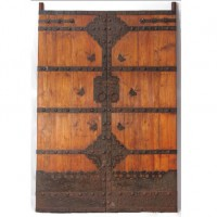 Solid Oak Antique Door
