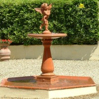 Terracotta Garden Fountain