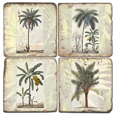 Terracotta Palm Tree Tiles