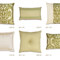 Vibrant Lime Pillows
