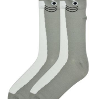 Wide Mouth Shark Socks