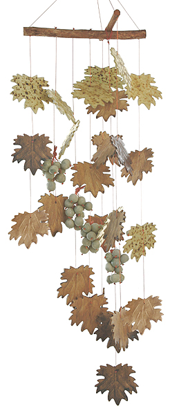 Wine Country Ceramic Windchime