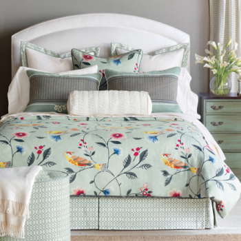 Wondrous Springtime Bedding