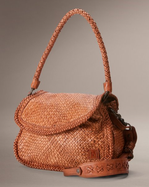 Woven Leather Artisan Handbag