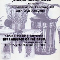 Yoruba Drum Lesson CD