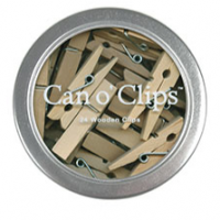24 Set of Mini Clothes Pins