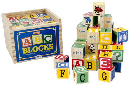 48 Piece Building Block Set