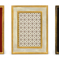 Aged Florentine Picture Frames