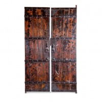Antique Buddhist Temple Doors