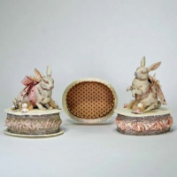 Antique Bunny Boxes
