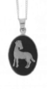 Aries Cameo Horoscope Necklace