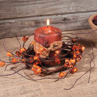 Autumn Harvest Candle Ring
