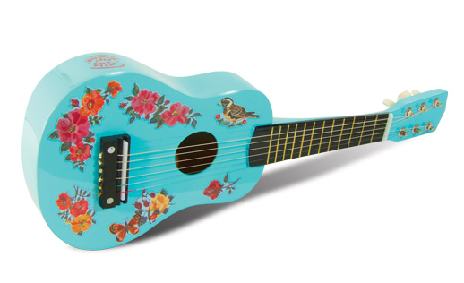 Beautiful Handpainted Kids Guitar