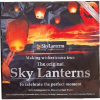 Biodegradable Sky Lanterns, detail