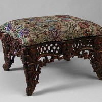 Cast Iron Footstool