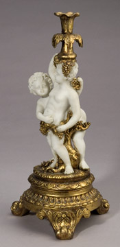 Cherub Candle Holder