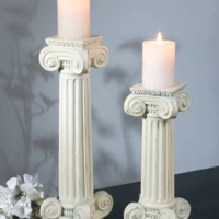 Column Candle Holder Set
