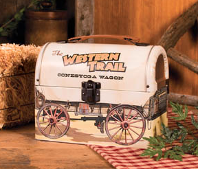 Covered Wagon Lunchbox