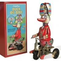 Duck On Bike Wind-Up Toy