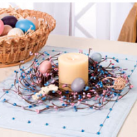 Easter Egg Candle Ring