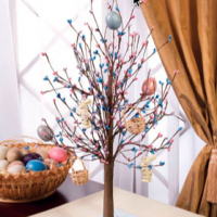 Easter Egg Tabletop Tree