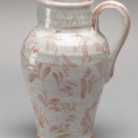 Floral Pitcher with Handle