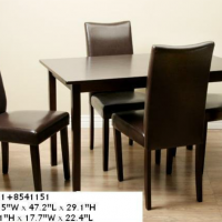 Four Seat Table Set