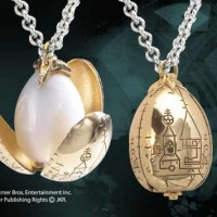 Golden Egg Pendant