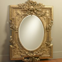 Gorgeous Gold Wall Mirror