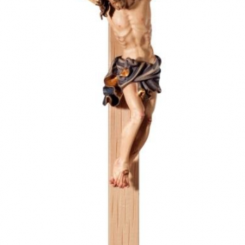 Hand-Carved Crucifix on Base