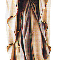 Hand-Carved Our Lady of Lourdes Figure
